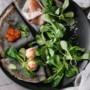 Danie włoskie – naleśniki z wędzoną rybą